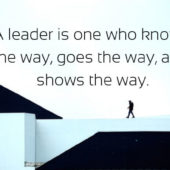 short leadership quotes